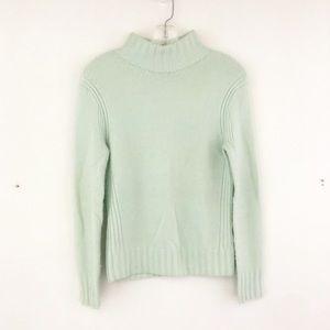 J Crew Mockneck Sweater in Supersoft Yarn (H)